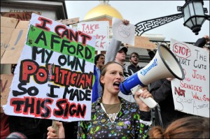 "Акции протеста ""Захвати Уолл-Стрит"" в США"